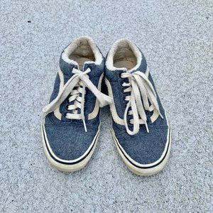 Limited addition fuzzy classic vans